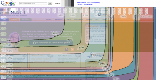 Browser size