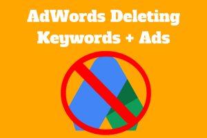 Google AdWords to Delete Old Keywords and Ads