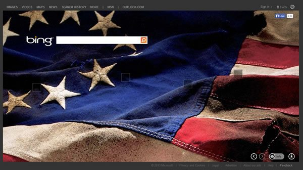 Bing Search Page June 3, 2013