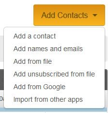 Unsubscribe Feature Enabled in Constant Contact