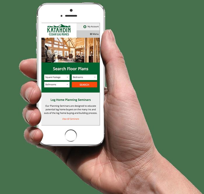 Katahdin Floor Plans on Mobile Device