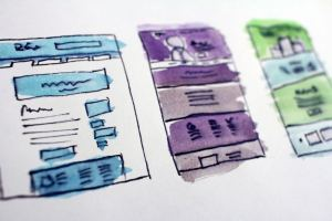 Landing Page Optimization Wireframes