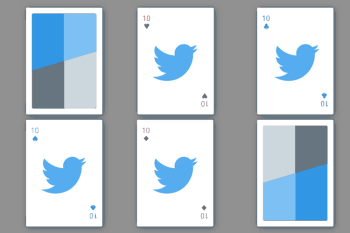 Twitter Playing Cards