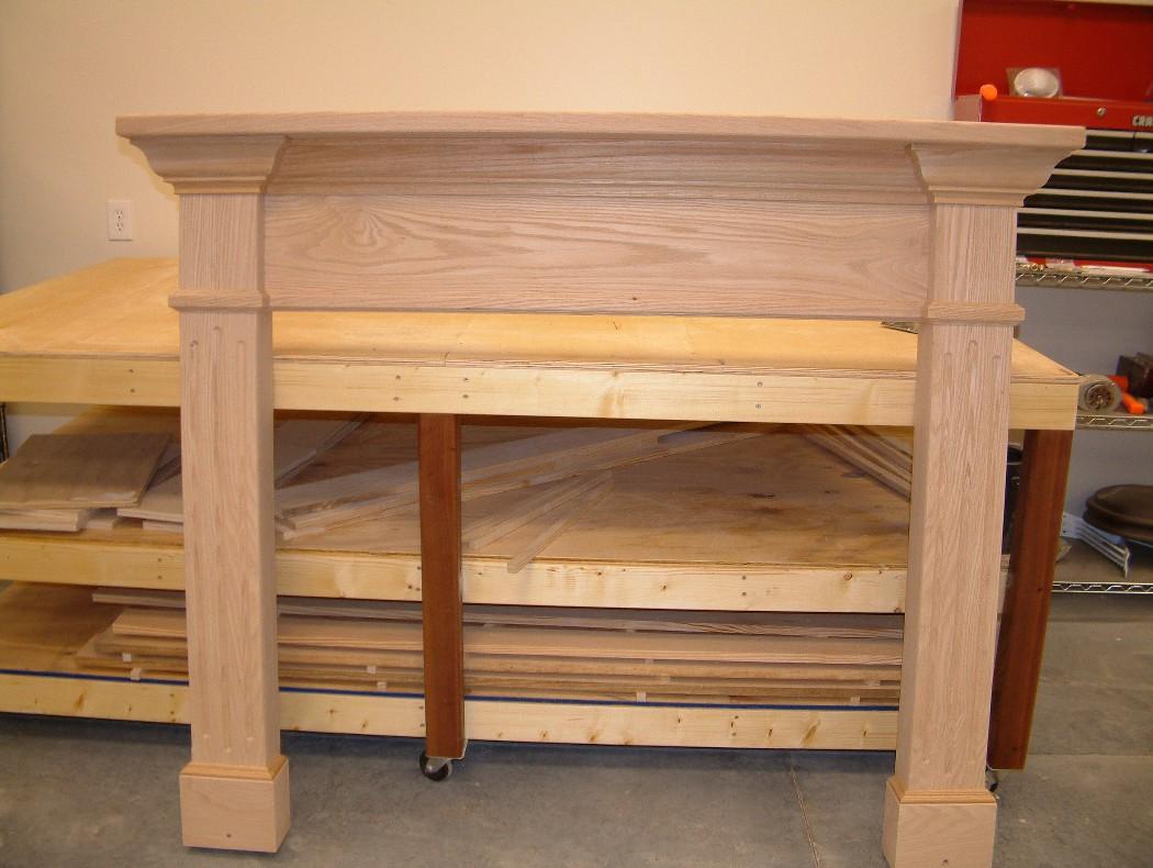 Fireplace Mantels Trim work door replacement rotten wood