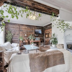 White Wooden Kitchen Chairs Games Country Style Home With A Scandinavian Twist