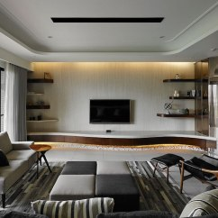 How To Decorate A Living Room And Dining Combination Ceiling Lights Uk Contemporary Taiwan Apartment Showing Luxury ...