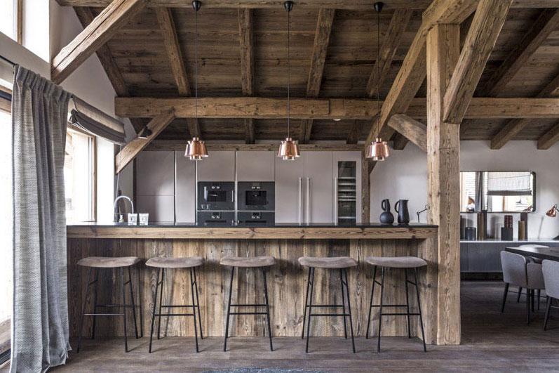 rustic kitchen lighting fixtures makeover contest earthy, natural interior design with nice texture | hall ...
