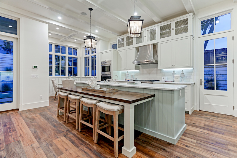 farm house kitchen table cost to replace cabinets modern farmhouse in california by david watson architect ...