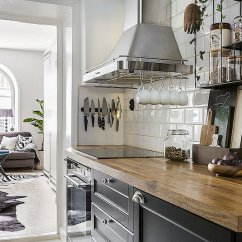 Contemporary Kitchen Tables Showcase Small Apartment With Bold Details And Decor