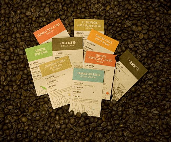 Hallo Fritz  Stumptown Coffee Bags  Cards