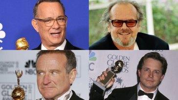 La classifica dei 10 attori più nominati agli Emmy e ai Golden Globes