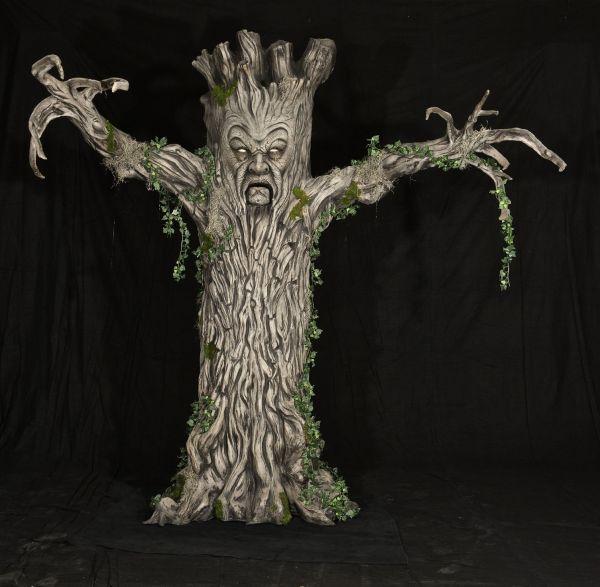 Evil Tree Halloween Prop