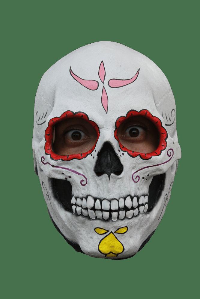 Catrina Skull Halloween Mask