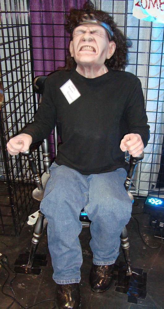 Zappy Electric Chair Animated Shaking Prop