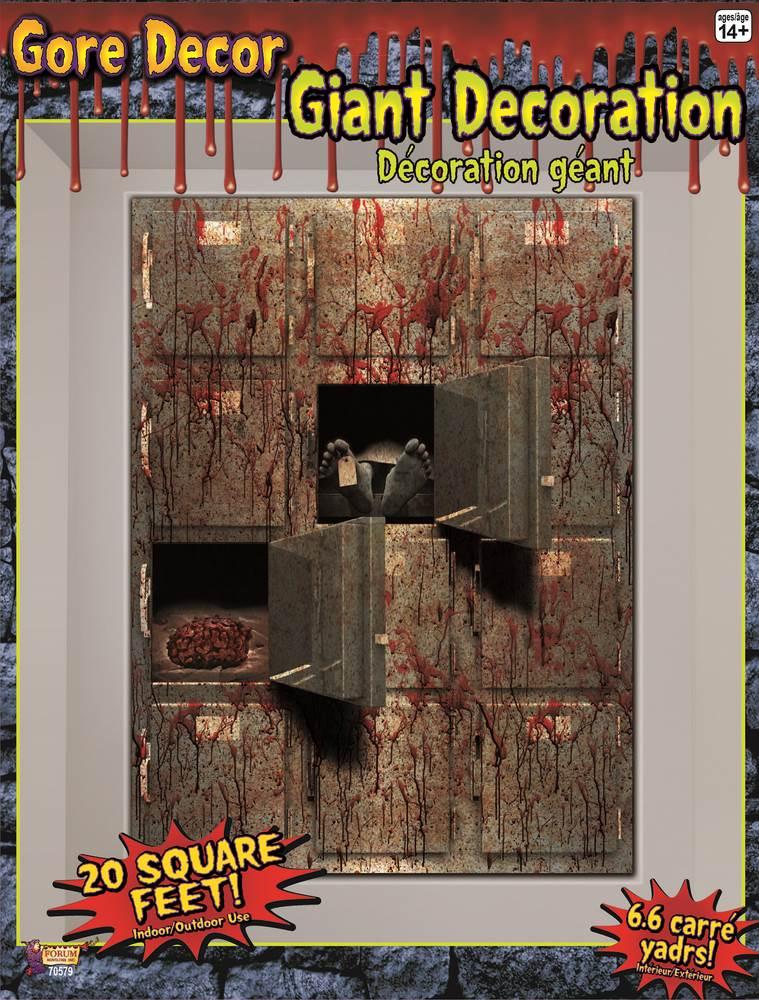 Morgue Gore Decor Halloween Decoration