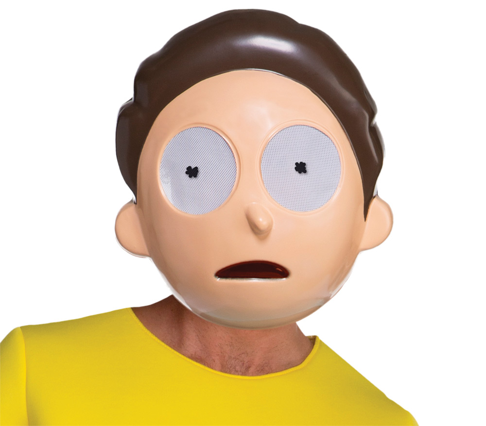 Morty Mask Rick And Morty