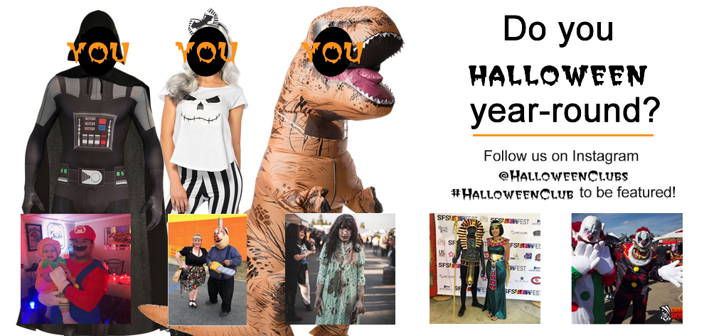 halloween club halloween costume