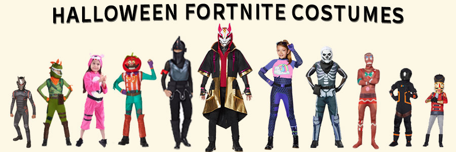 Outfits are based on the character models. Halloween Fortnite Costumes For Kids Adults