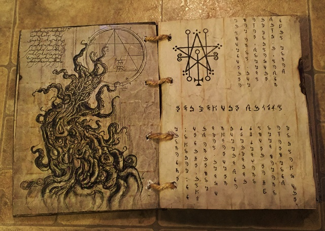 Static Spell Book Book Of Shadows Grimoire