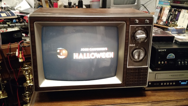 Static Old TV Props