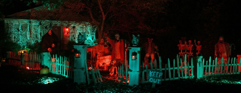 Prop Showcase Red Oak Cemetery  My 2011 Haunt