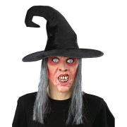 witch hairstyles with hat