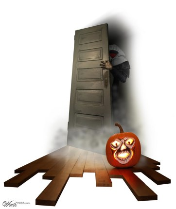Scary Halloween Photo