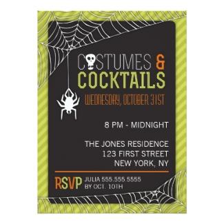costume party invitations