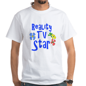 reality tv star costume t-shirt