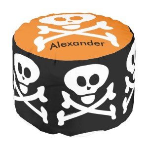personalized pouf halloween