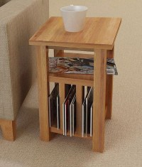 Oak Magazine Rack Table - Solve Your Clutter Issues ...