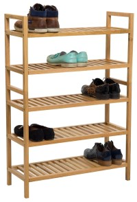 Wide Shoe Rack
