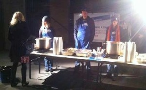 Vinnies night patrol soup kitchen