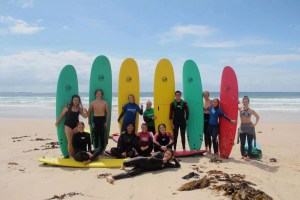 Rotary youth exchange surfing