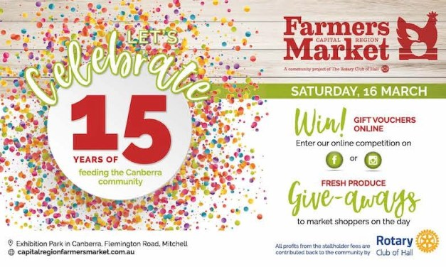 Join Us In Celebrating The 15th Birthday Of Our Market