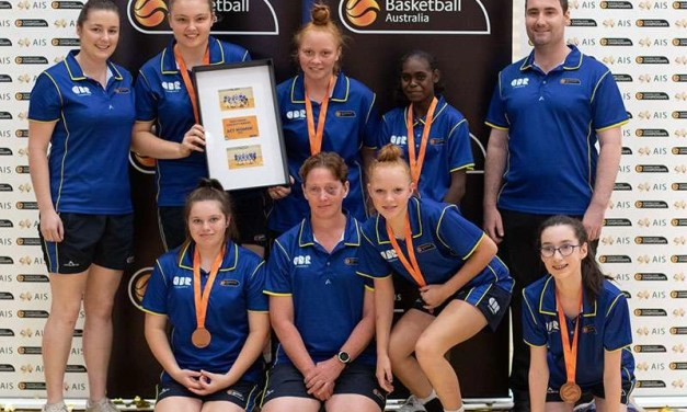 Bronze To ACT Women's Ivor Burge Basketball Team