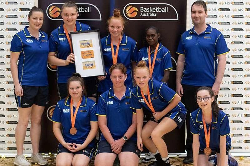 Bronze To ACT Women's Ivor Burge Basketball Team