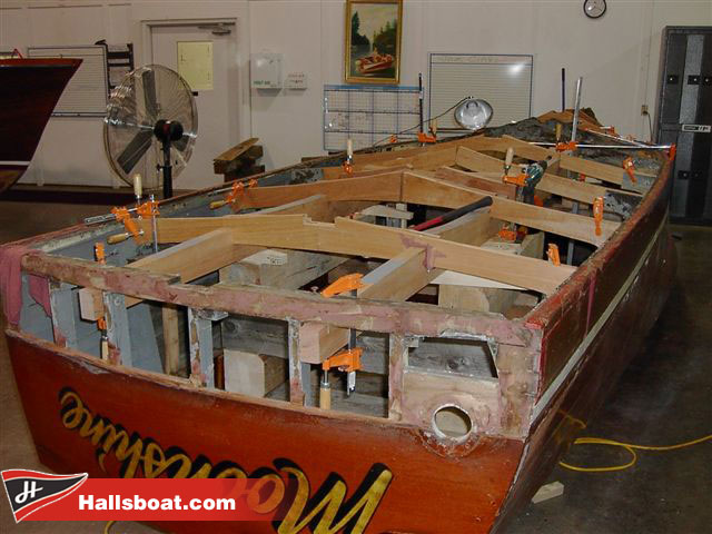 Wooden Boat Restoration  Antique Classic Boats  Boat