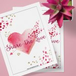 Happy Valentine's Day and a Free Printable!