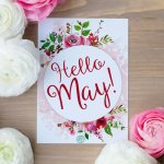 It's May and that means it's time for a Free Printable!