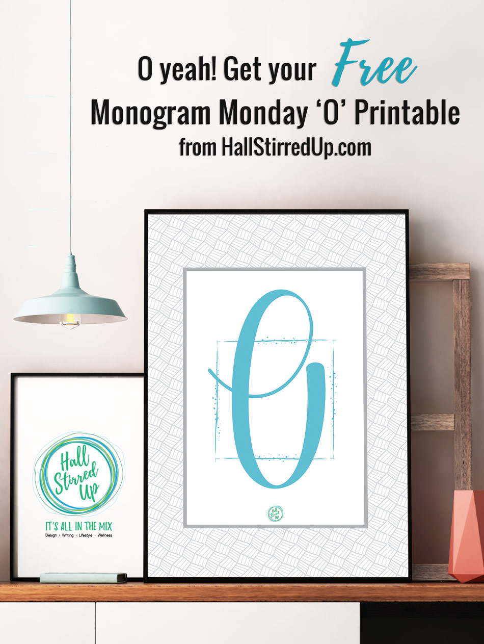 HSU-Monogram-Monday-O-Free-Printable