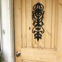 How to Refinish a Wood Exterior Door ~ Hallstrom Home