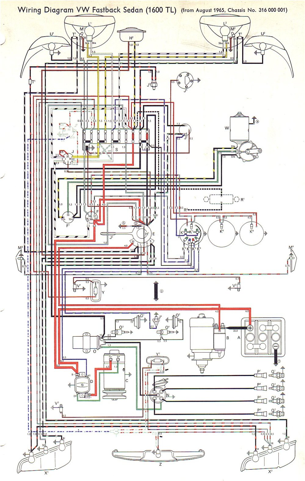 medium resolution of vw type 3 wiring diagrams