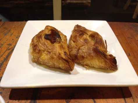 mexican bean & vege curry pastizzi