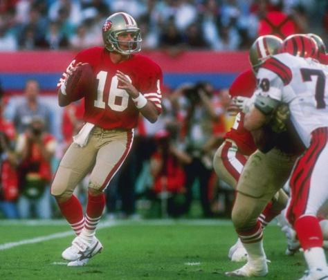 Joe Montana, San Franciso 49ers, Super Bowl 23