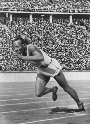 Jesse Owens in Berlin 1936