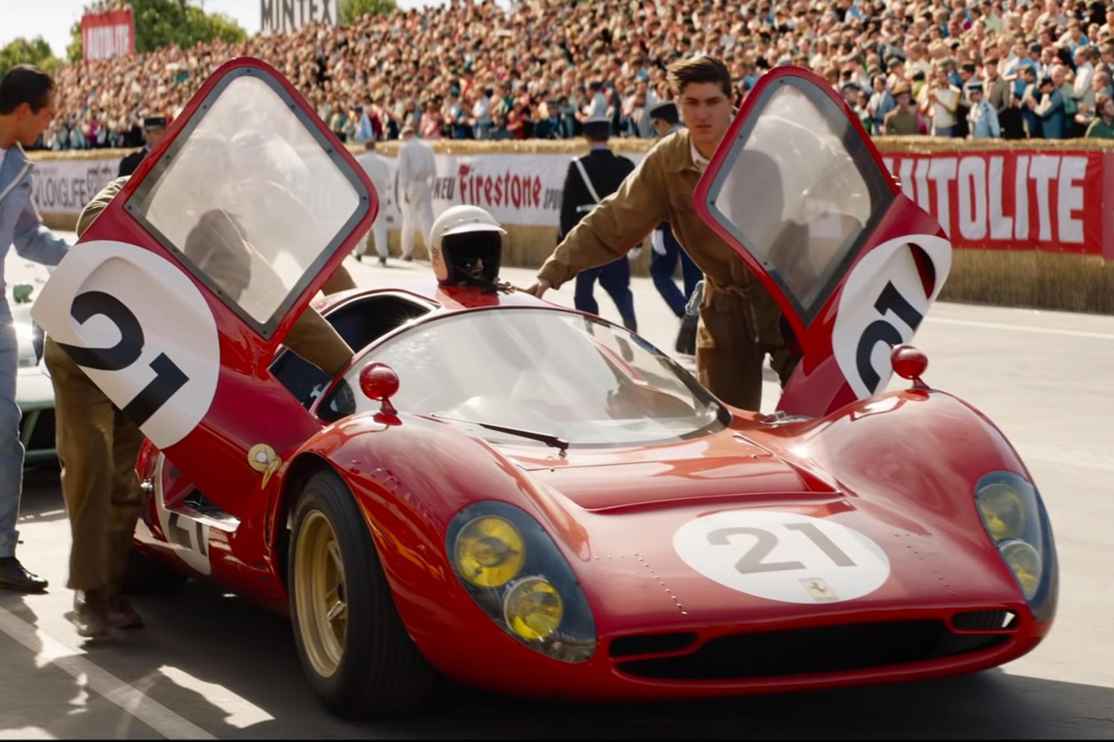 Ford V Ferrari Hallymustang