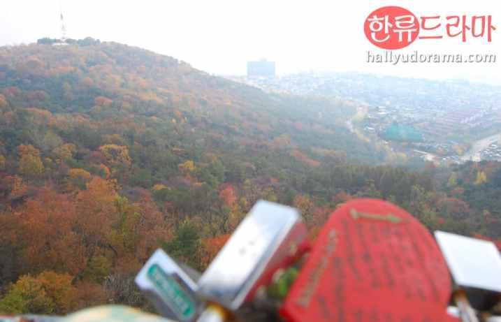 Korean Autumn in Namsan
