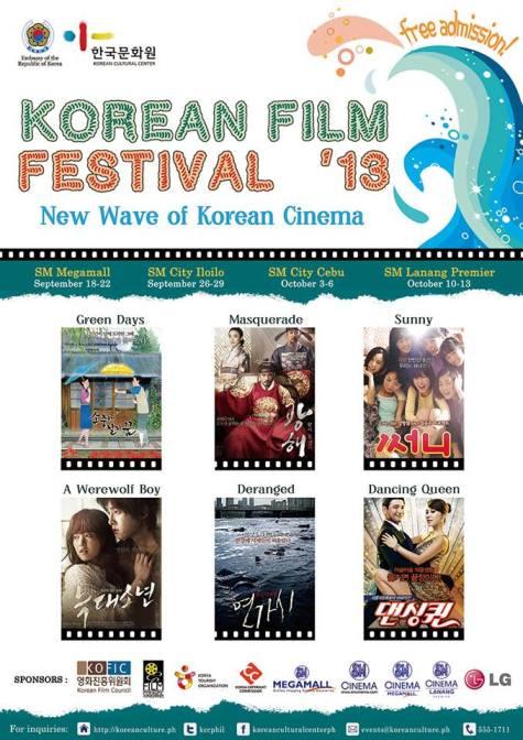 Korean Film Festival 2013 Poster