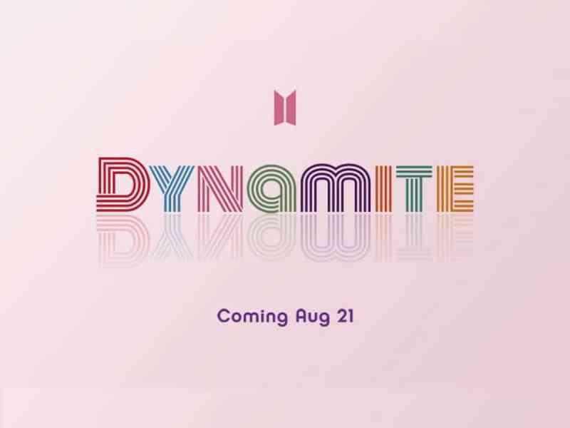 BTS' 'Dynamite' teaser